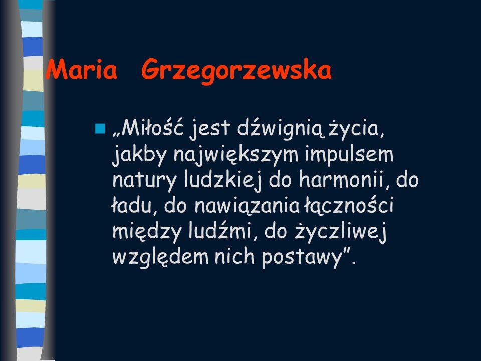 Maria Grzegorzewska