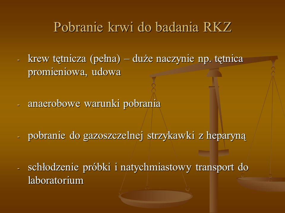 Pobranie krwi do badania RKZ