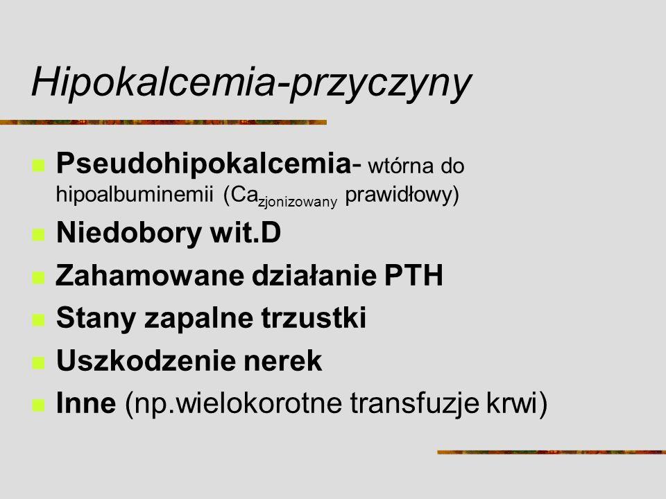Hipokalcemia-przyczyny