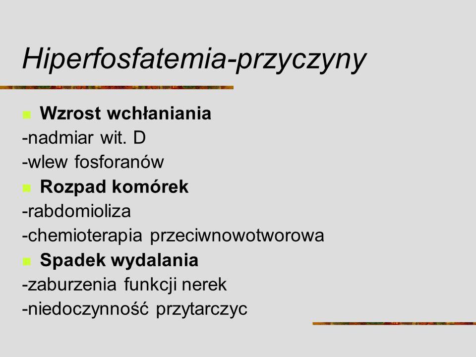 Hiperfosfatemia-przyczyny