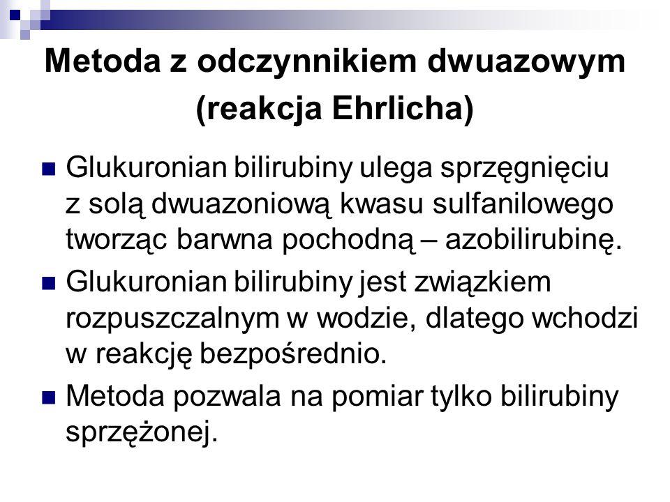 Metoda z odczynnikiem dwuazowym (reakcja Ehrlicha)