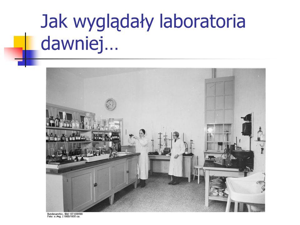 Jak wyglądały laboratoria dawniej…