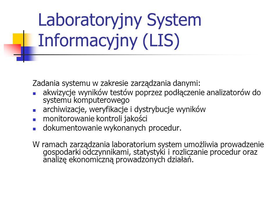 Laboratoryjny System Informacyjny (LIS)