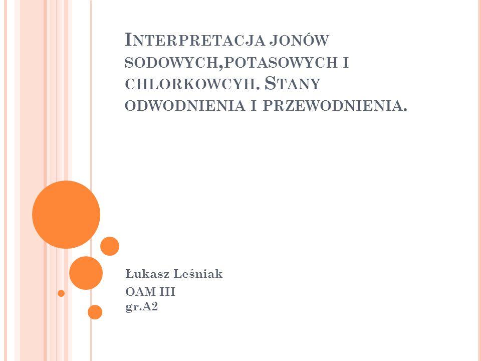 Łukasz Leśniak OAM III gr.A2