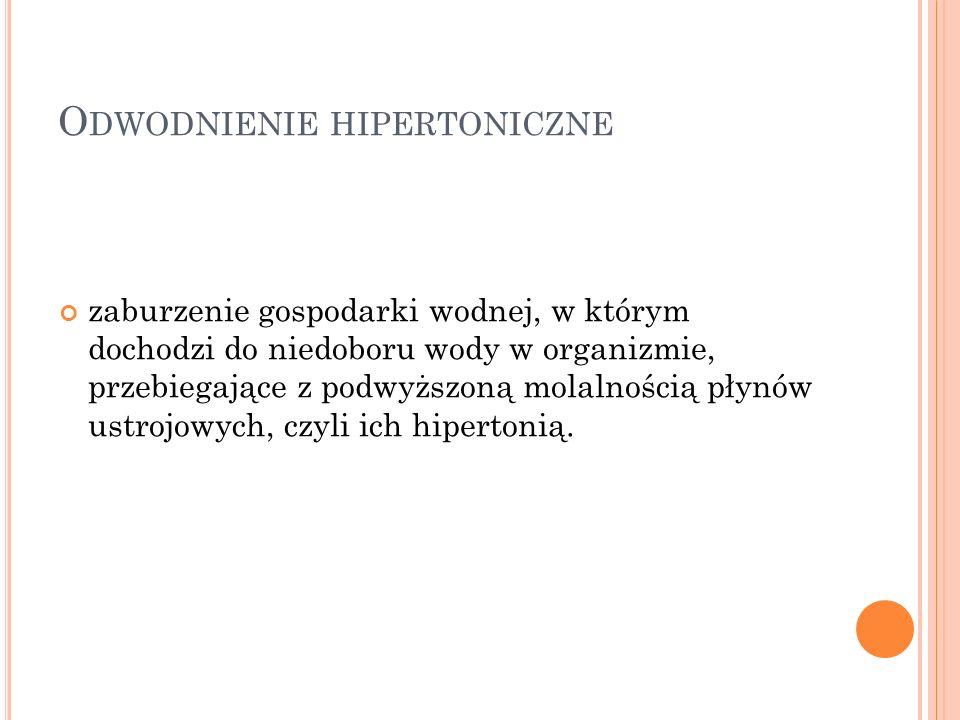 Odwodnienie hipertoniczne
