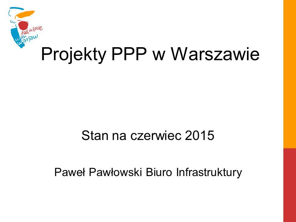 Projekty PPP w Warszawie