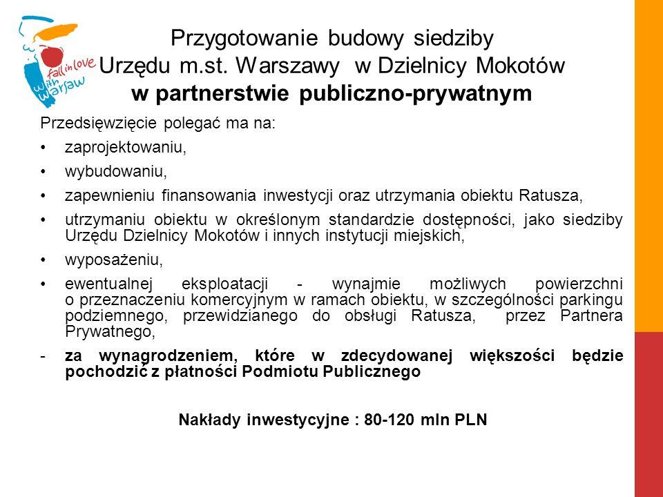 Przygotowanie budowy siedziby Urzędu m. st
