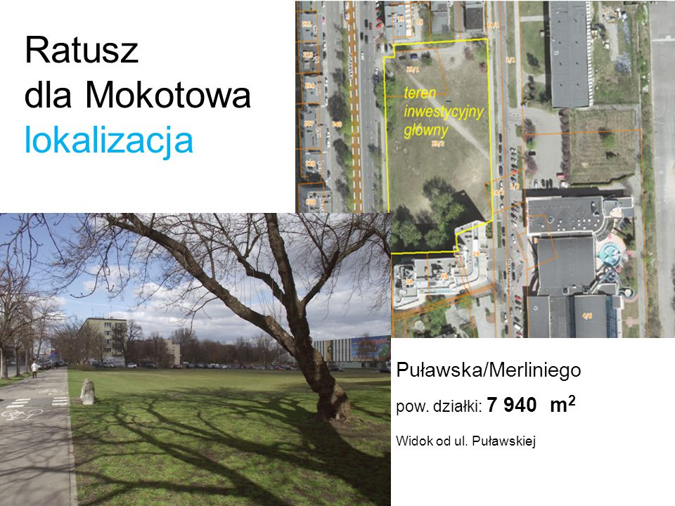 .. Ratusz dla Mokotowa lokalizacja