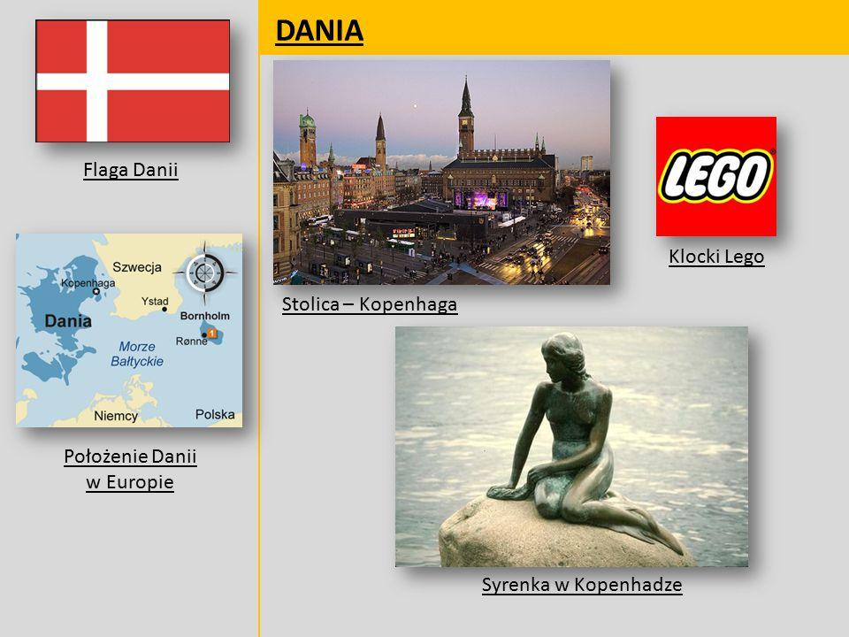 Położenie Danii w Europie