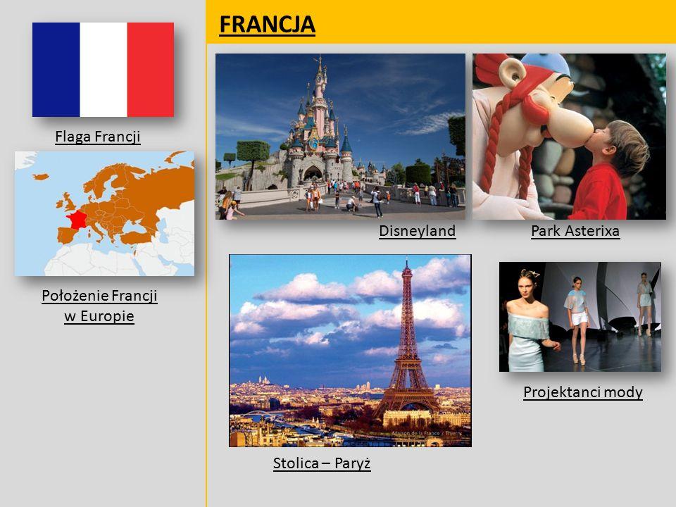 Położenie Francji w Europie