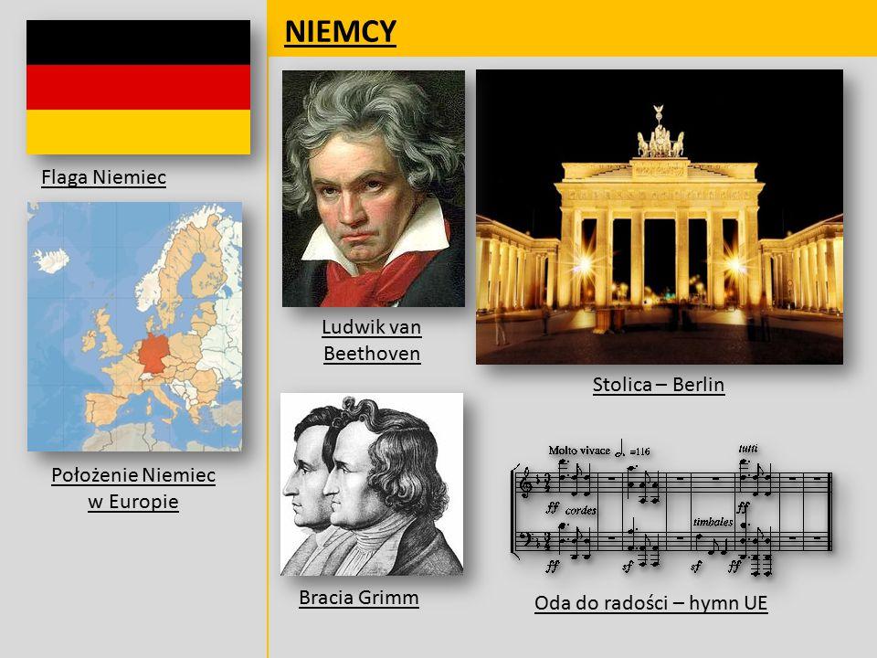 Położenie Niemiec w Europie
