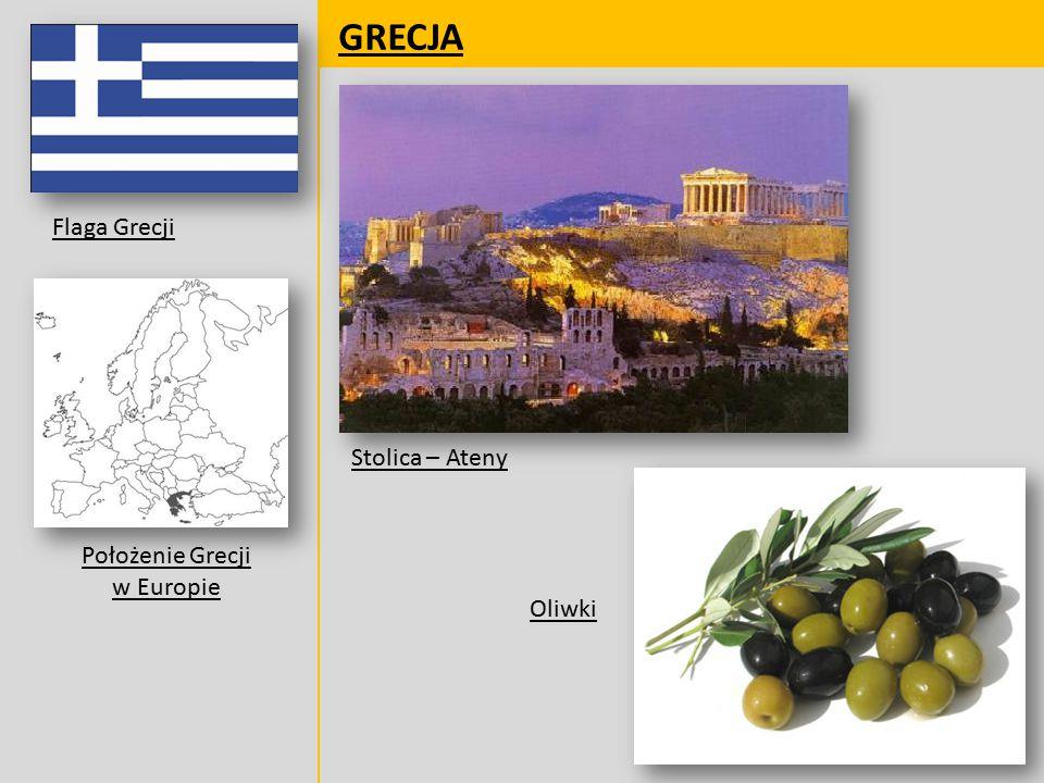 Położenie Grecji w Europie