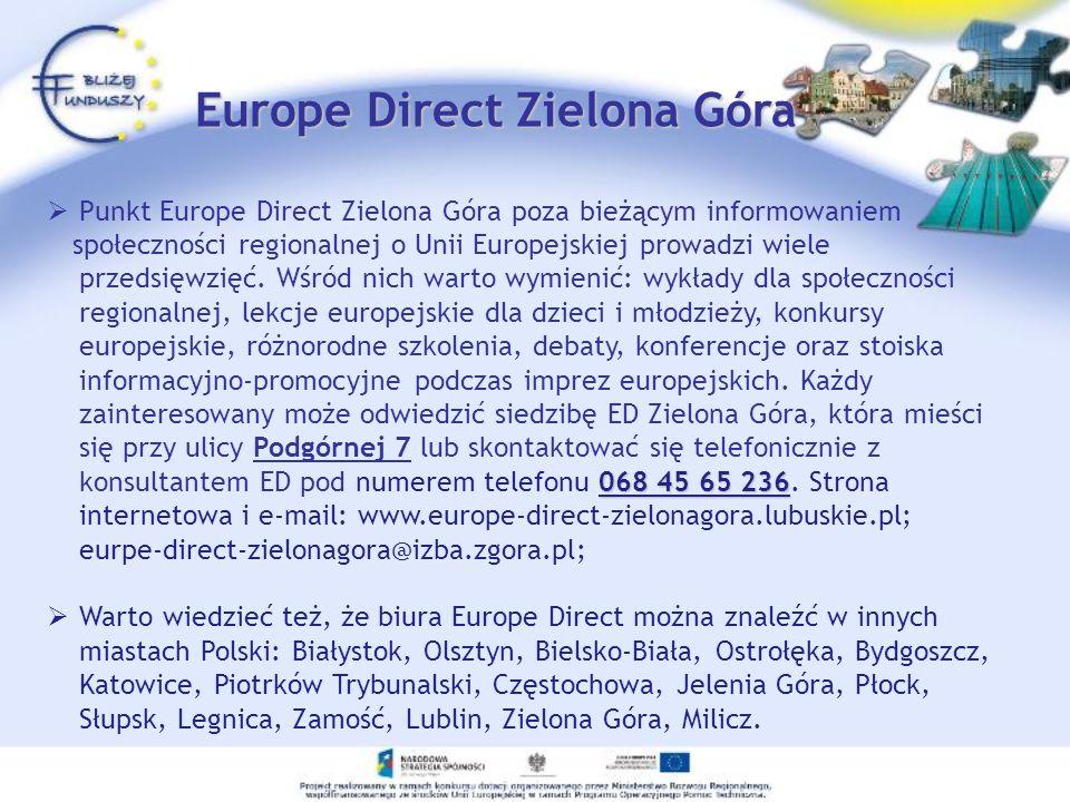 Europe Direct Zielona Góra