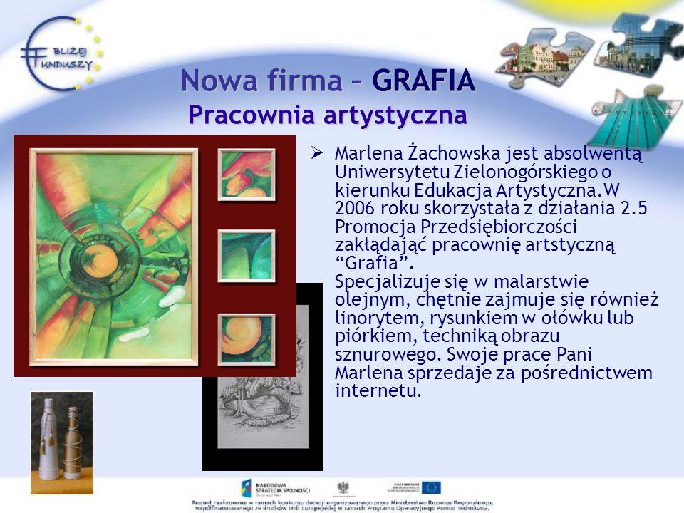 Nowa firma – GRAFIA Pracownia artystyczna