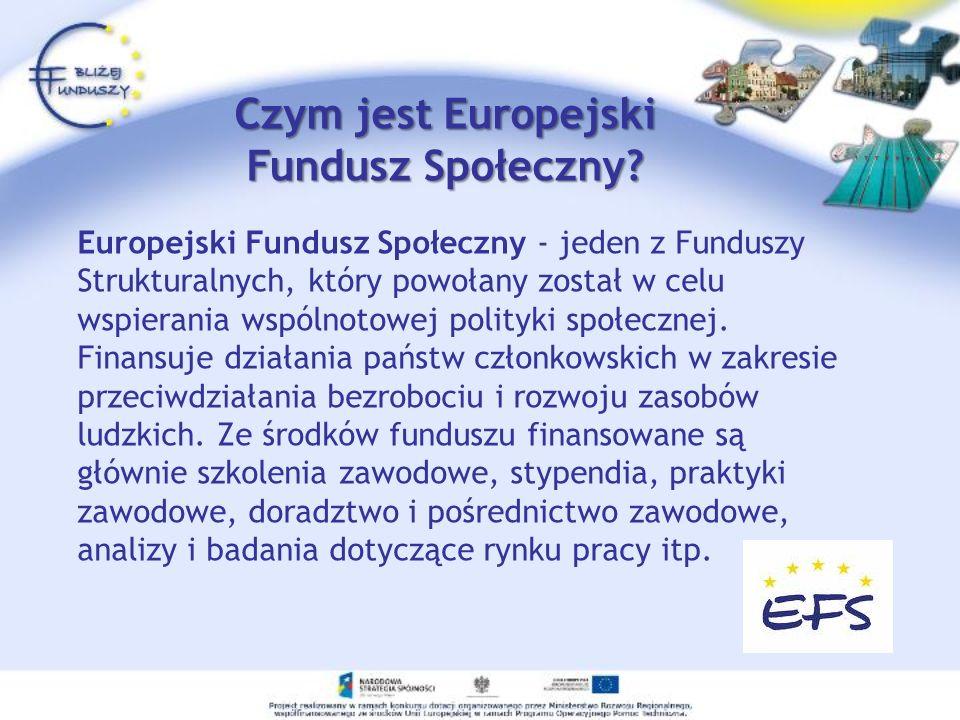 Czym jest Europejski Fundusz Społeczny