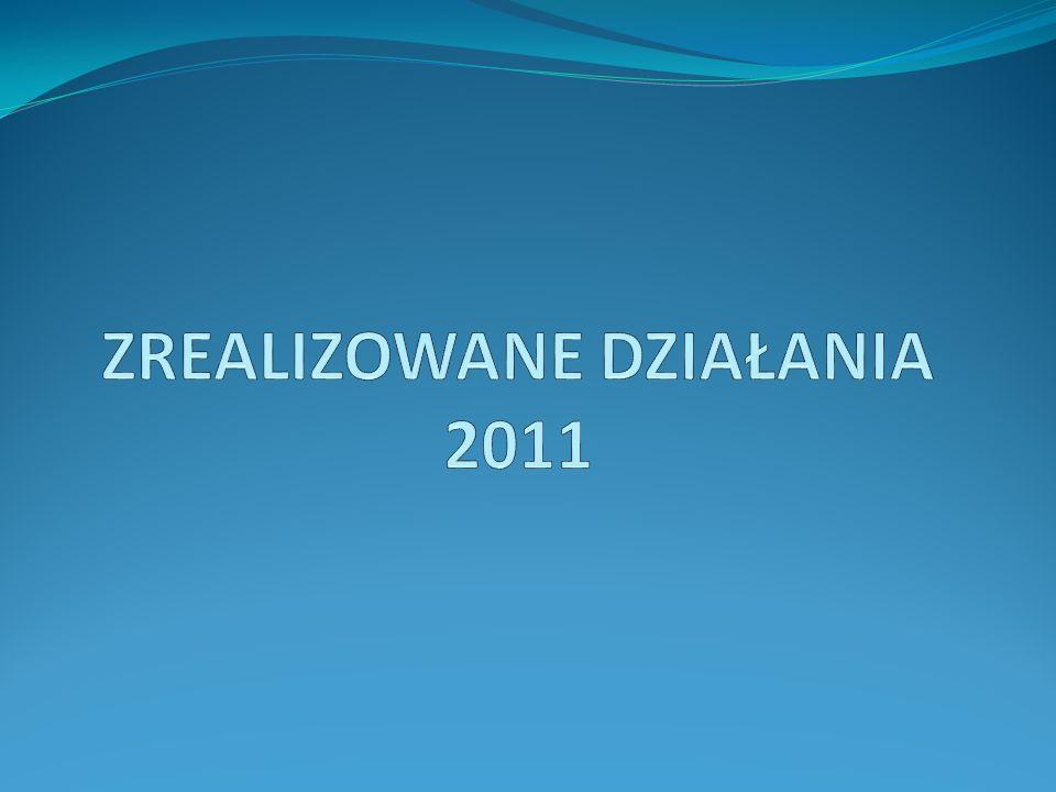 ZREALIZOWANE DZIAŁANIA 2011