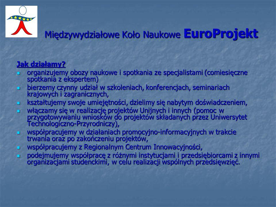 Międzywydziałowe Koło Naukowe EuroProjekt