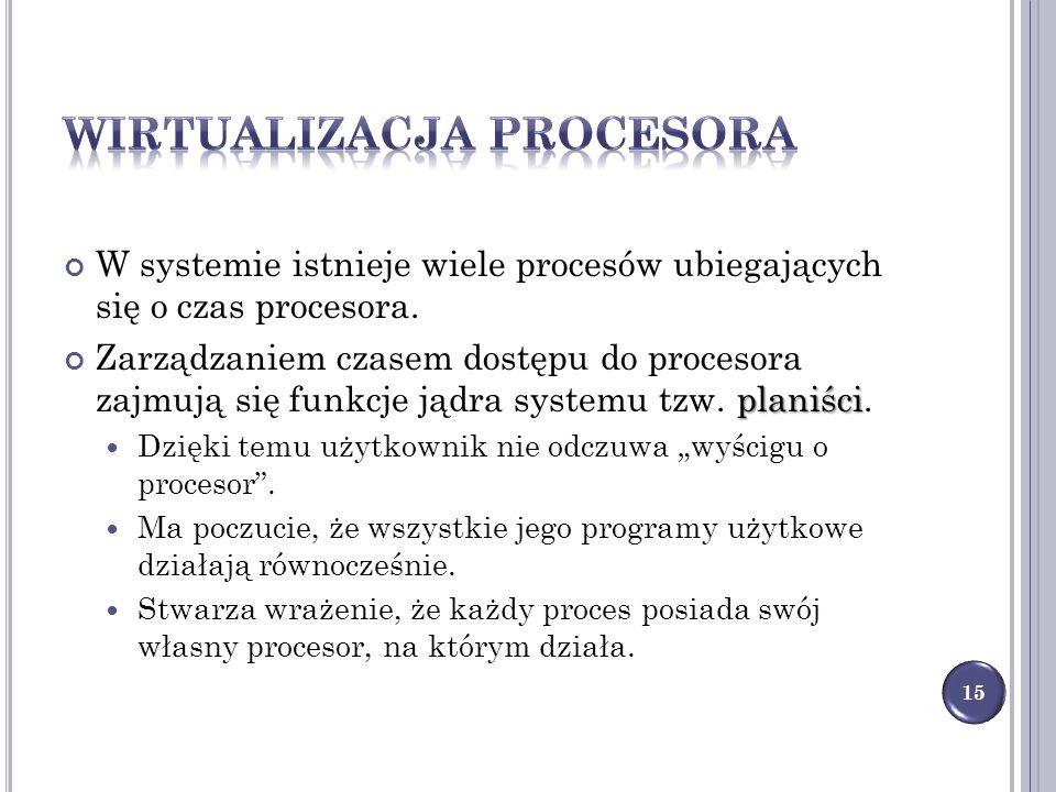 Wirtualizacja procesora
