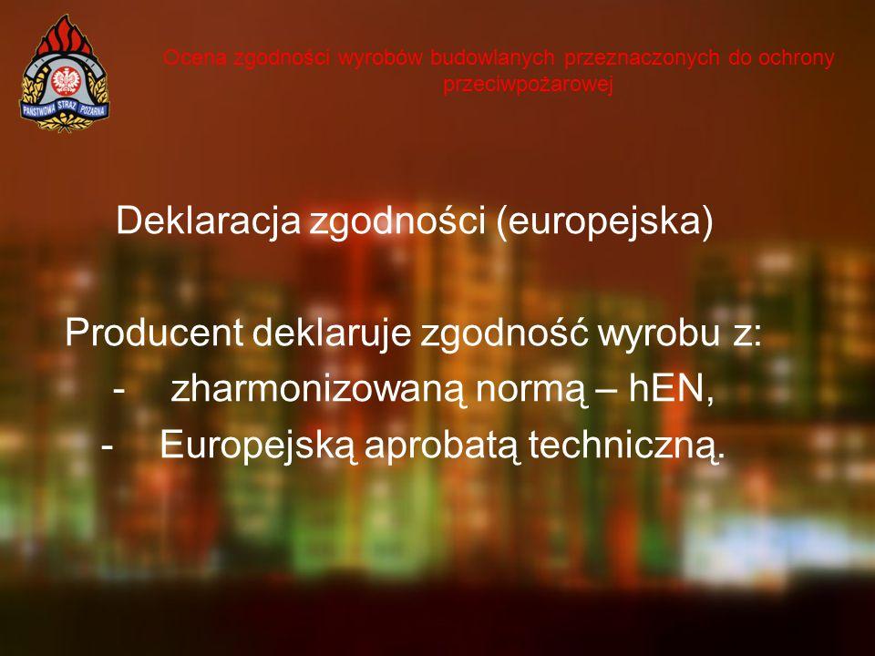 Deklaracja zgodności (europejska)