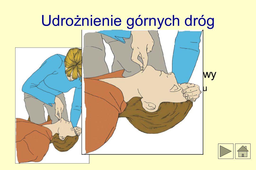 Udrożnienie górnych dróg oddechowych