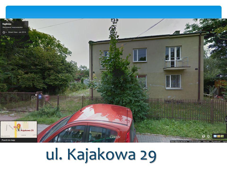 ul. Kajakowa 29