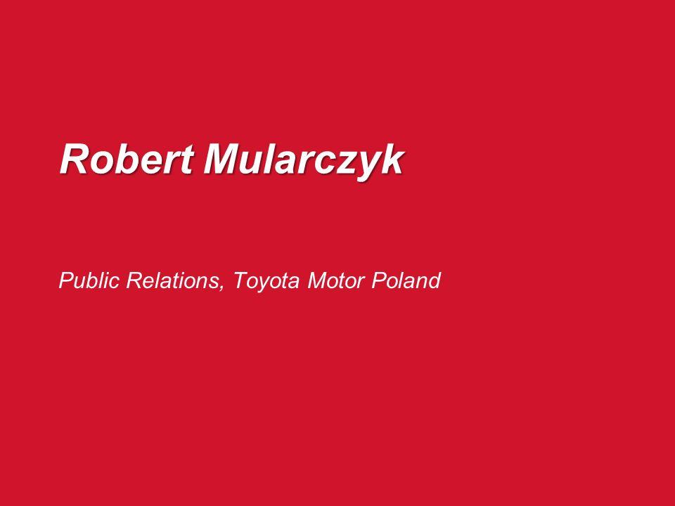 Public Relations, Toyota Motor Poland
