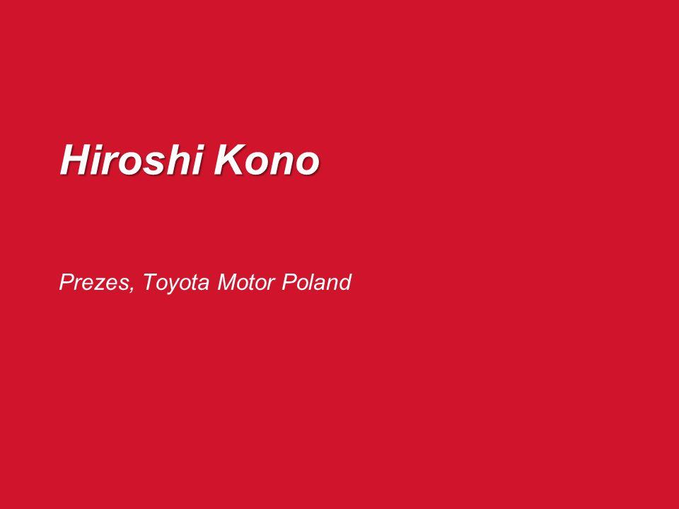 Prezes, Toyota Motor Poland