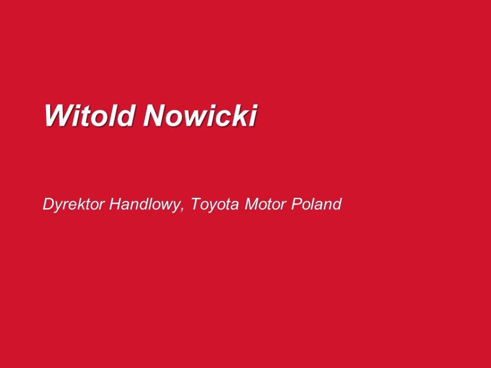 Dyrektor Handlowy, Toyota Motor Poland