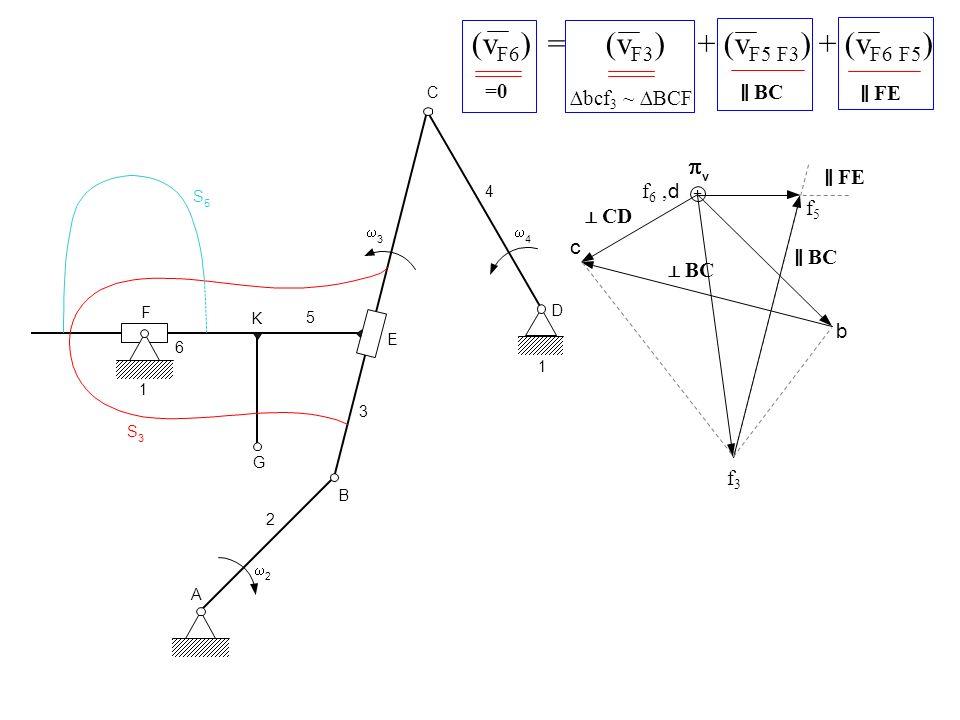 (vF6) = (vF3) + (vF5 F3) + (vF6 F5)