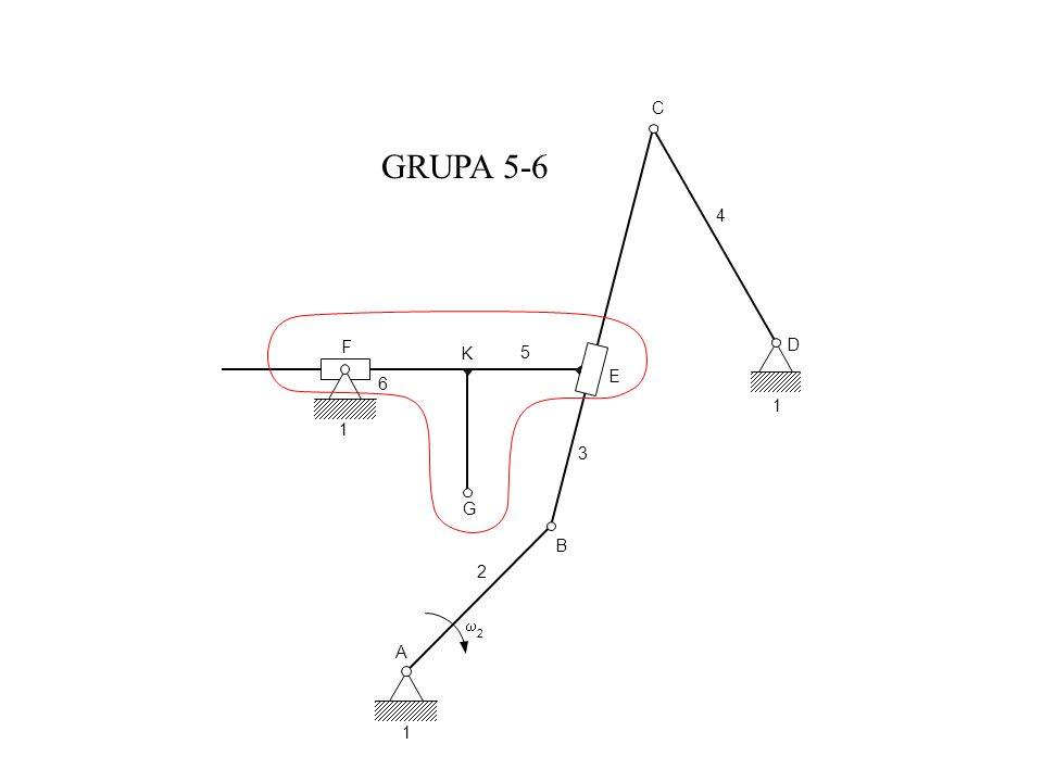 C GRUPA 5-6 4 F D K 5 E 6 1 1 3 G B 2 w 2 A 1