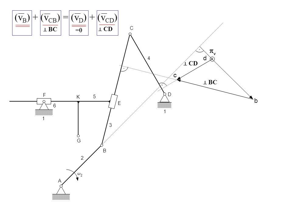 (vB) + (vCB) = (vD) + (vCD)