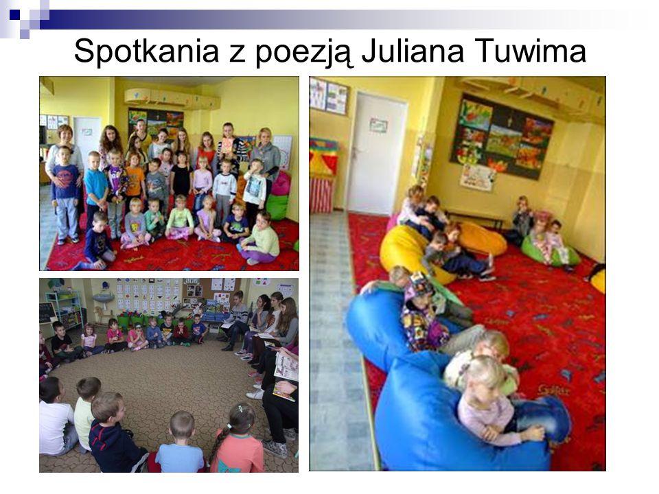 Spotkania z poezją Juliana Tuwima