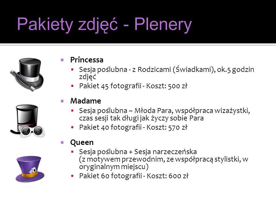 Pakiety zdjęć - Plenery