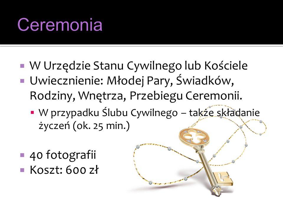 Ceremonia W Urzędzie Stanu Cywilnego lub Kościele