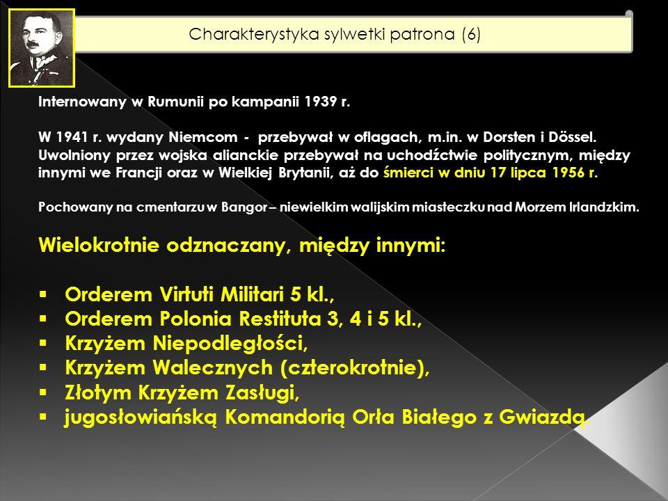 Charakterystyka sylwetki patrona (6)