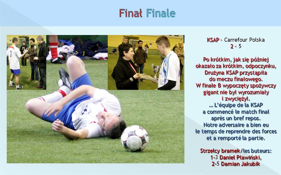 Finał Finale KSAP – Carrefour Polska 2 – 5