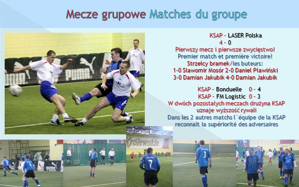 Mecze grupowe Matches du groupe