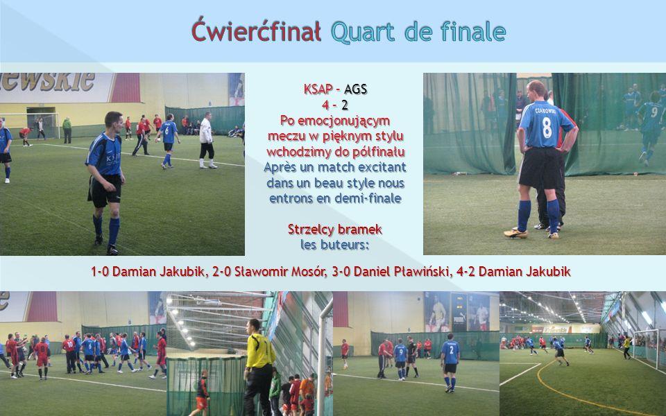 Ćwierćfinał Quart de finale