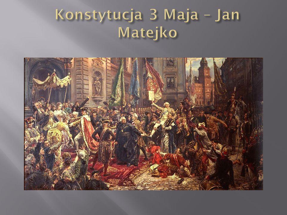 Konstytucja 3 Maja – Jan Matejko