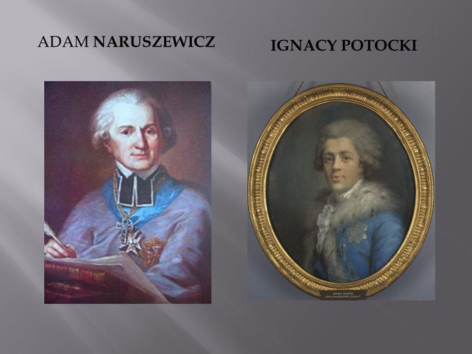 Adam Naruszewicz Ignacy potocki