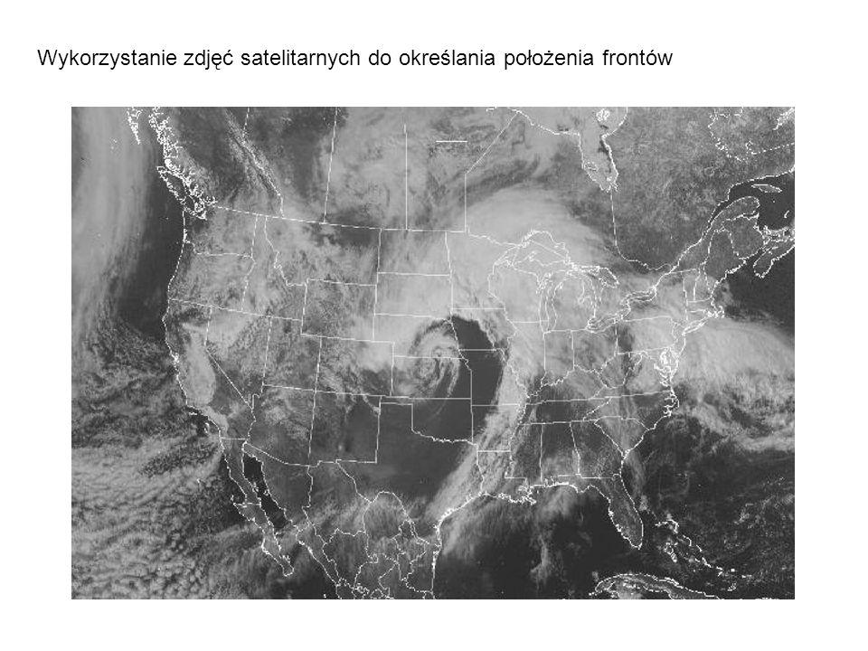 Wykorzystanie zdjęć satelitarnych do określania położenia frontów