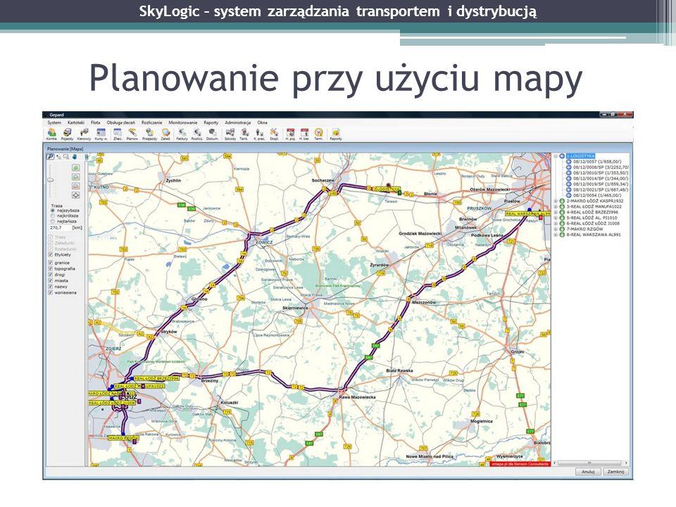 Planowanie przy użyciu mapy