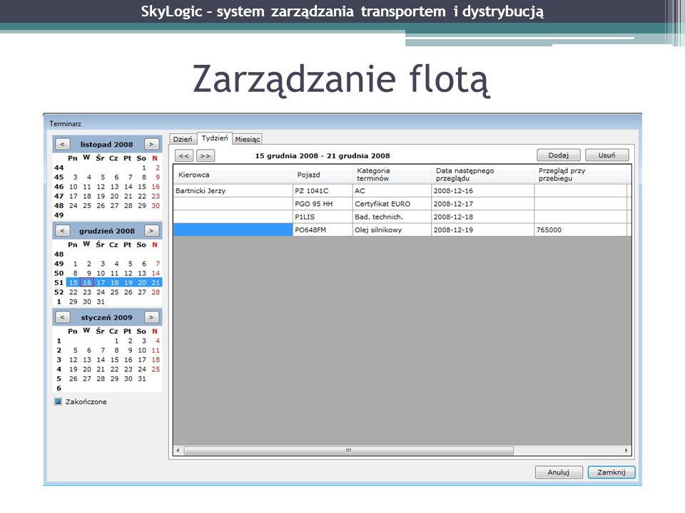 SkyLogic – system zarządzania transportem i dystrybucją