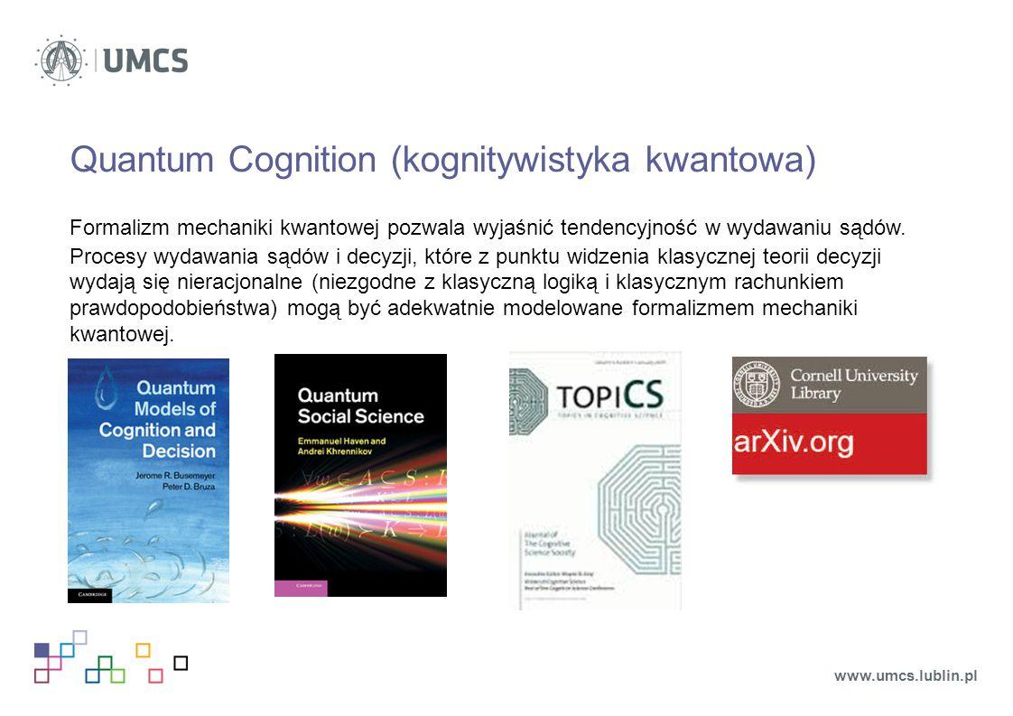 Quantum Cognition (kognitywistyka kwantowa)