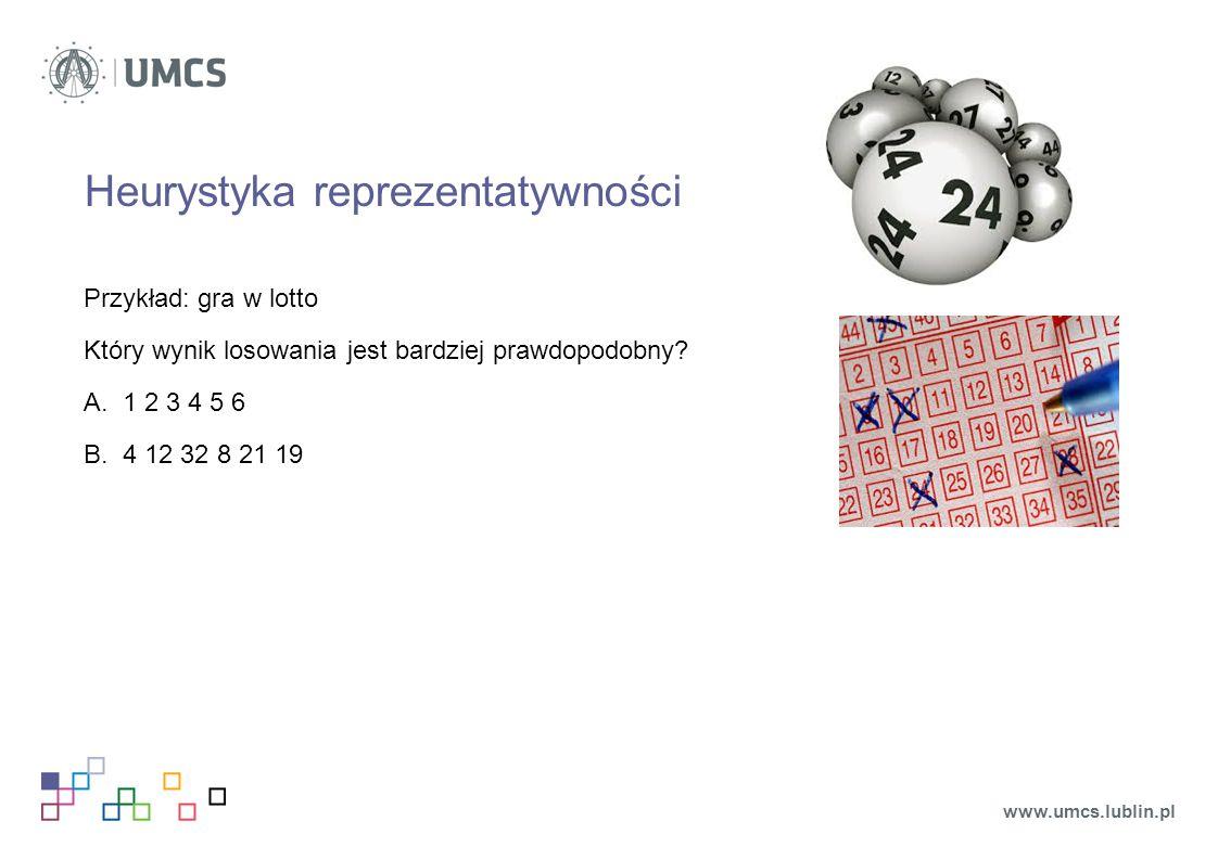 Heurystyka reprezentatywności