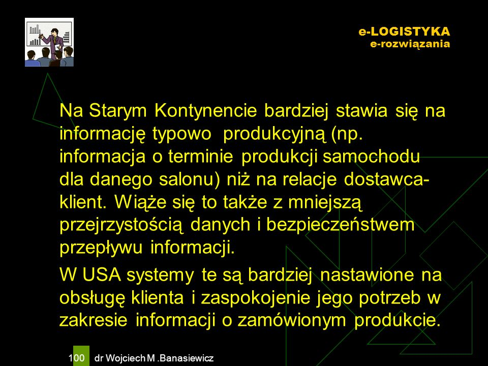 e-LOGISTYKA e-rozwiązania