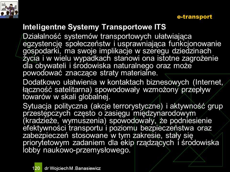 e-transportInteligentne Systemy Transportowe ITS.