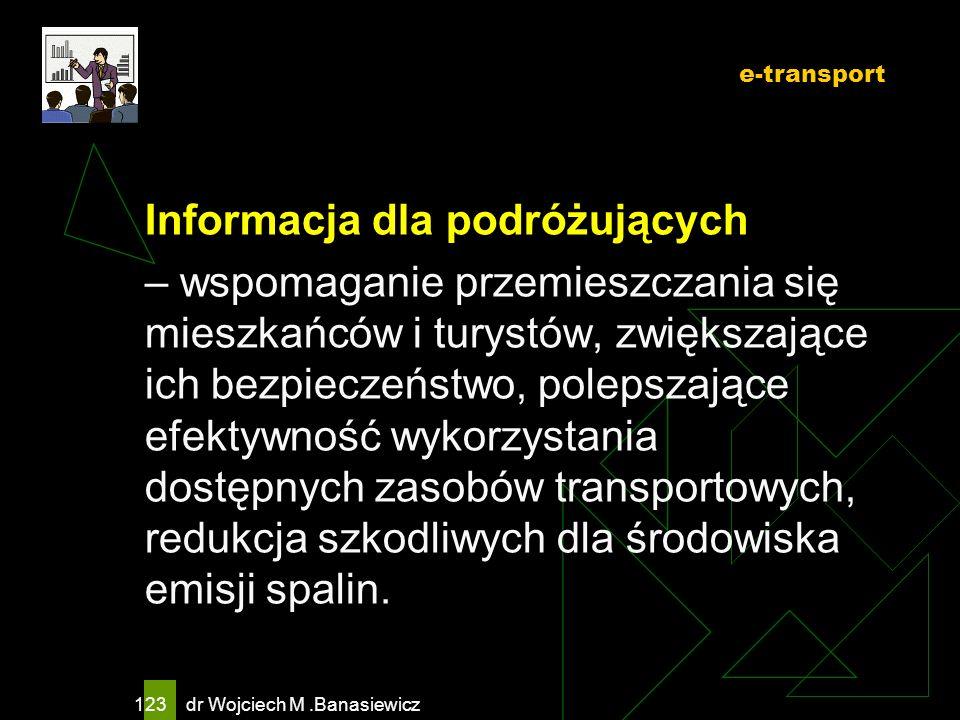 Informacja dla podróżujących