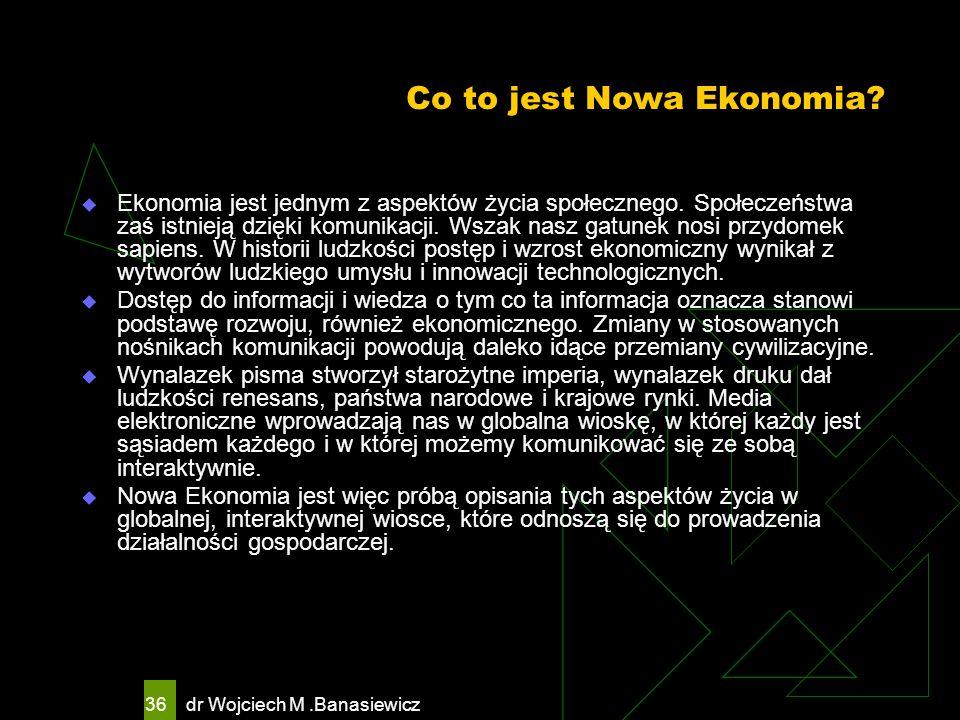 Co to jest Nowa Ekonomia