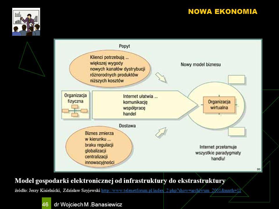 Model gospodarki elektronicznej od infrastruktury do ekstrastruktury